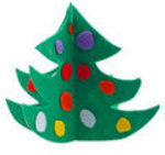 Felt Christmas Tree on FaveCrafts