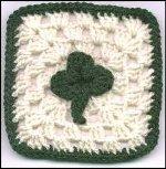 crochet-shamrock-grannysquare