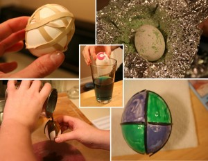 easter egg disaster 300x232 Monthly Craft Question: What Was Your Worst Crafting Disaster?