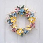 crochet-spring-wreath