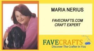 Maria Nerius Crop 300x162 FaveCrafts Radio: April 4, 2010