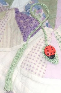 ladybug bookmark Crochet a Bookmark: Patterns from Our Sister Site