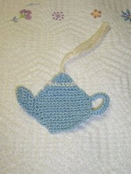 teapot Crochet a Bookmark: Patterns from Our Sister Site