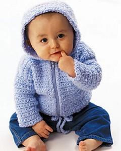 Baby Crochet Cardigan 240x300 5 Crochet Crafts for Baby