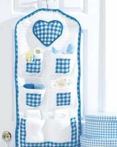 Crochet Hanging Storage for Baby 240x300 5 Crochet Crafts for Baby
