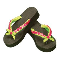 Embellished Flip Flops blog New Pattern Monday: Crafting Fun in the Sun