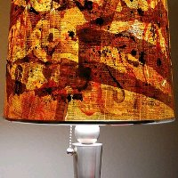 Paper Graffiti Lamp