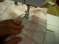 Sewing Ruffle How to: Sew an Apron