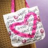Live and Laugh Tote