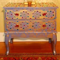 India Inspired Bedside Dresser