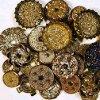 Glittery Buttons