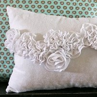 Ruffle Pillow 2