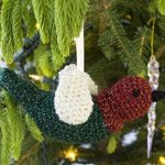 Bird New Pattern Monday: Knit and Crochet Christmas Ornaments