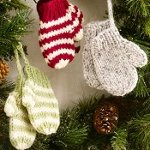 Mittens New Pattern Monday: Knit and Crochet Christmas Ornaments