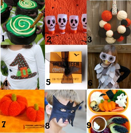 Link Love2 Link Love: Cute Halloween Crafts