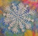 beautiful snowflake Beautiful Crocheted Snowflakes