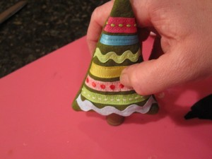 16. press down 300x225 Meet and Make: A Sewn Ornament from Cathie Filian + 18 Days til Christmas Giveaway