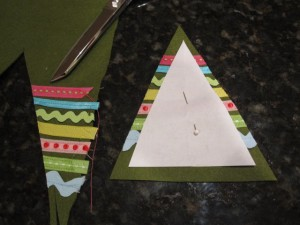 6. cut out leaving an edge for a seam 300x225 Meet and Make: A Sewn Ornament from Cathie Filian + 18 Days til Christmas Giveaway