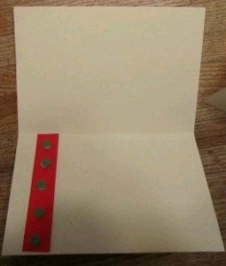 Card 2 How to: Make Quick Christmas Cards