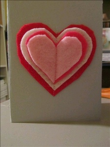 Card 8 How to: Make Sewn Valentines