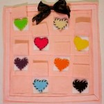 Felt Heart Memory Game 150x150 21 Valentines Day Sewing Projects