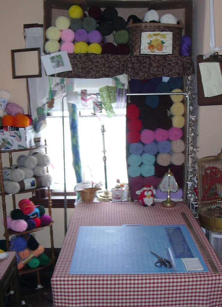 My Green Craft Room
