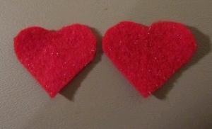 Earrings 2 Make Sequin Heart Earrings
