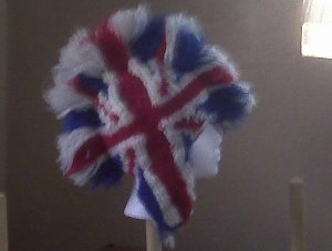 Union Jack Mohawk Hat