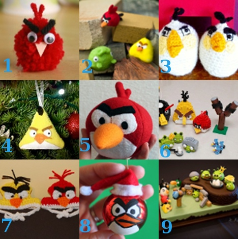 linklove 040711 Link Love: Angry Birds Crafts