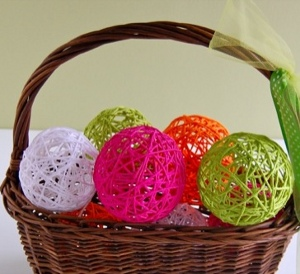 yarn balls How to: Host a Wedding on the Cheap