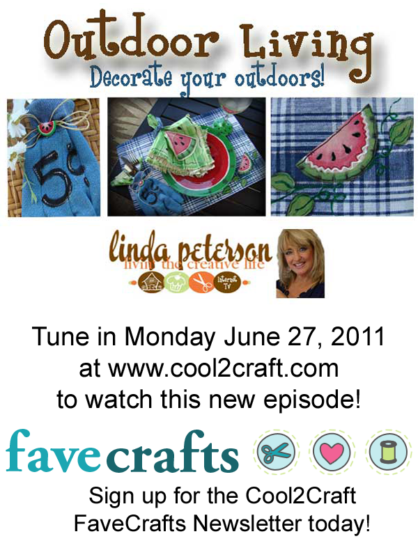 Livin' the Creative Life TV with Linda Peterson - Outoor Living