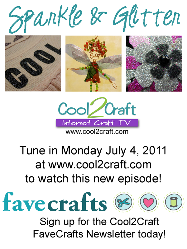 Cool2Craft TV - Sparkle & Glitter