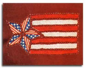 American Applique2 300x236 Fireworks, Festivities, and FaveCrafts: Do It Yourself Fourth of July!