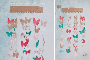 butterfly mobiles What Can You Make with Paper Scraps?