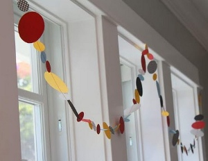 paper garland What Can You Make with Paper Scraps?
