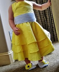 Sunny Little Miss Dress Tutorial
