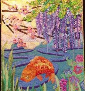 Clover Art Quilt