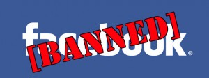 Viewer is banned from Facebook