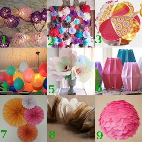 Craft Ideas Yarn on Linklove 071411 Link Love  Pretty Party Decorations