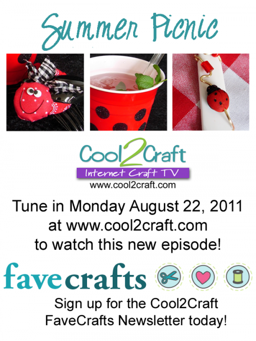 8-22-11 Cool2Craft TV - Summer Picnic