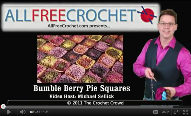 How to join granny squares with crochet flat brain joining | Video