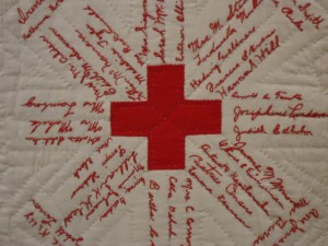 American Red Cross Signature Quilt