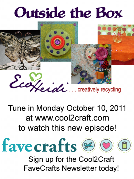 10-10-11 Outside the Box 3-up FaveCrafts - Cool2Craft TV