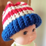 Howto Horizontal Stripe A baby Hat