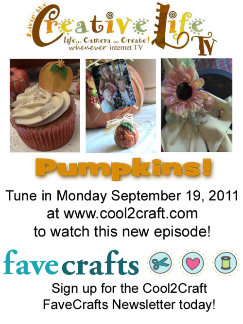 Cool2Craft - Livin' the Creative Life TV - 9-19-11
