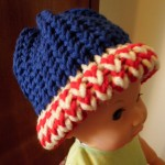How To Stripe the Brims with Loom Knitting