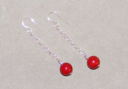 How to Make Simple Bead Earrings