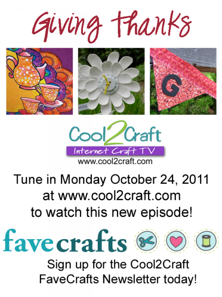 10-24-11 Giving Thanks 3-up FaveCrafts Cool2Craft