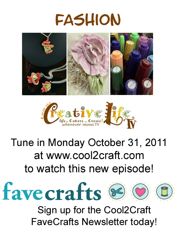 10-31-11 Fashionista 3-up FaveCrafts Cool2Craft