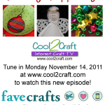 11-14-11 Holiday Happenings 3-up FaveCrafts Cool2Craft